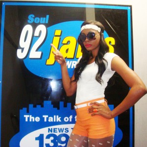 Model Chic Promo at Soul 92 Jams Rocky Mt, NC