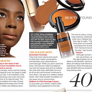 Feature In Essence Magazine September 2013 Issue